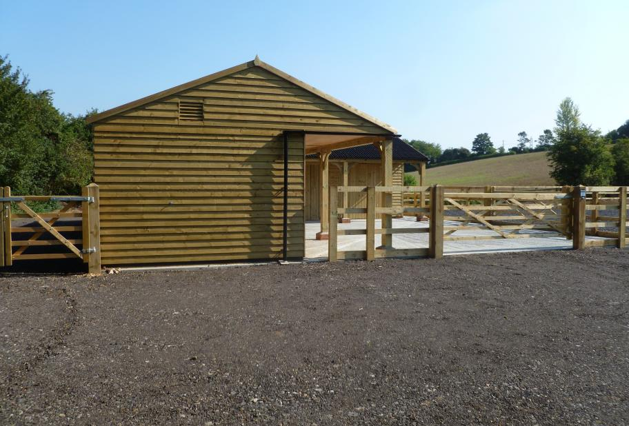 Stables And Concrete Bases